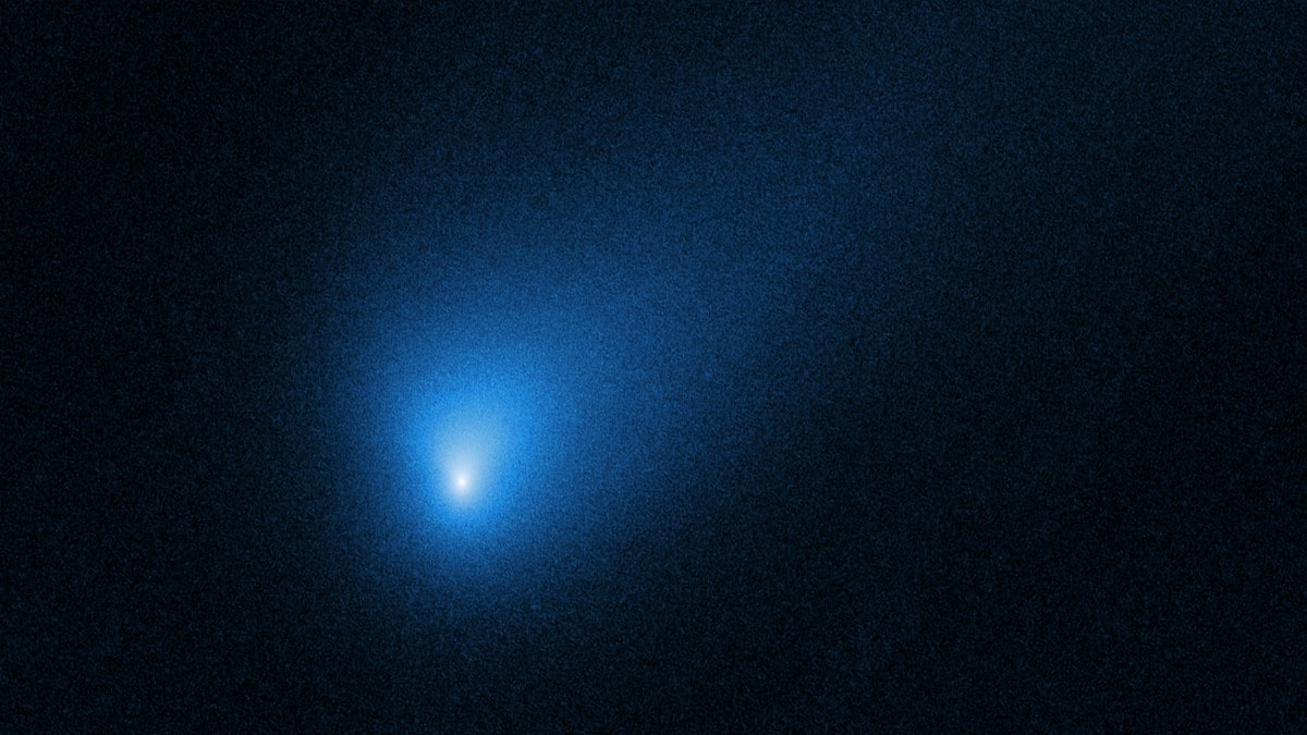 NASA's Hubble telescope spots interstellar visitor