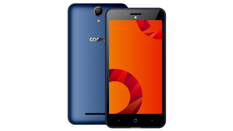 Comio C2 smartphone with 4000mAh battery, Android 7.0 launched at Rs. 7199