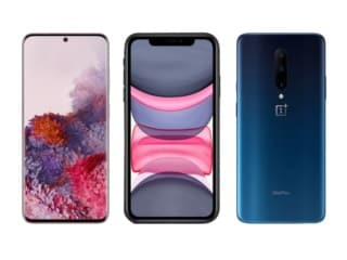 Samsung Galaxy S20 vs iPhone 11 vs OnePlus 7 Pro: Price, Specifications Compared