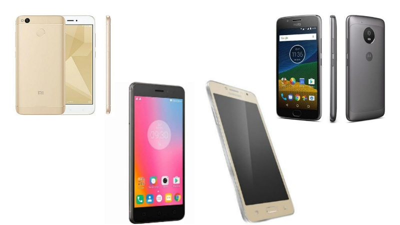 Xiaomi Redmi 4 vs Lenovo K6 Power vs Moto G5 vs Samsung Galaxy J2 Ace: Price, Specifications, Design Compared