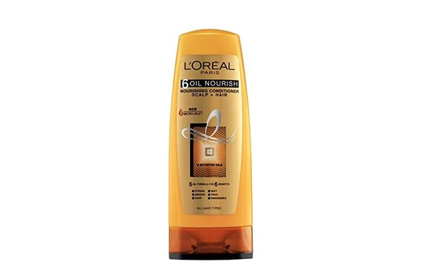 best conditioner for dry hair in india L'Oreal Paris 6 Oil Nourish Conditioner Scalp and Hair