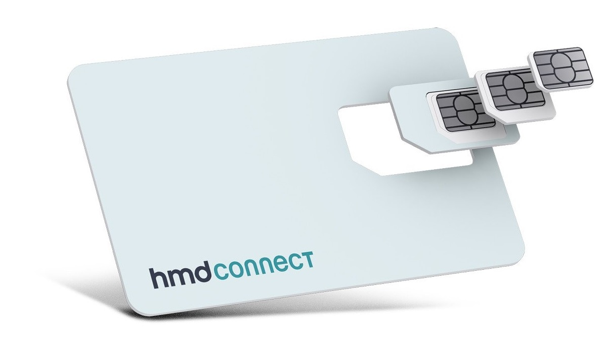 HMD Connect Is a Global Data SIM Card From Nokia Phone Maker That Works in 120 Countries