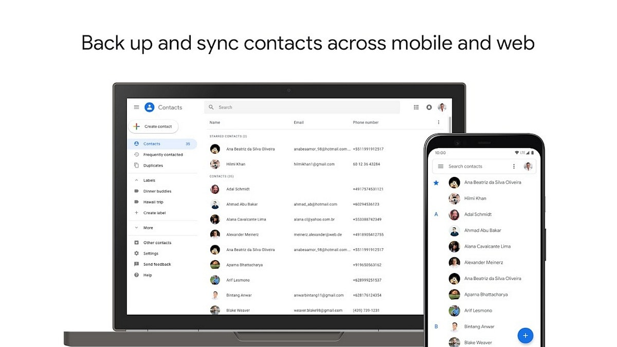 Google Contacts App Gets an Update; Will Let You Find Contacts Not Saved to Your Account