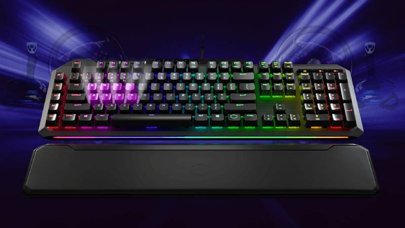 Cooler Master MK850 Gaming Keyboard With Pressure-Sensitive Analogue Keys Launched