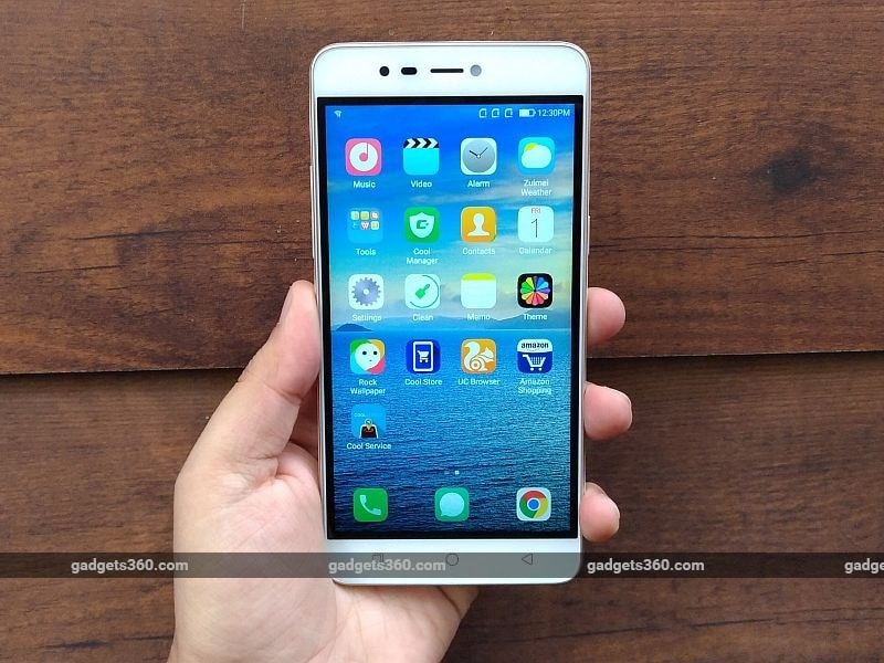 coolpad mega 3 homescreen gadgets360 coolpad