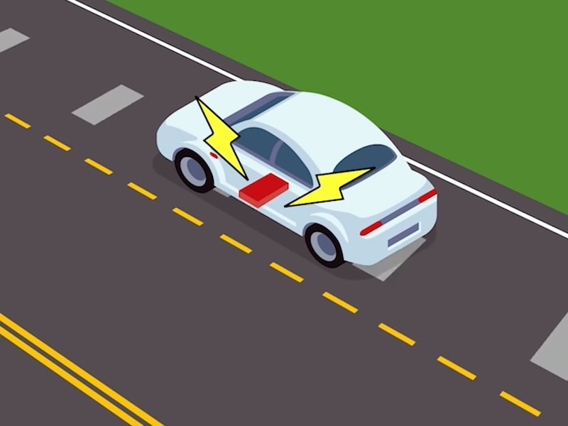 Wireless Charging Of Electric Vehicles: Power Strips Embedded In The Road May Hold The Key