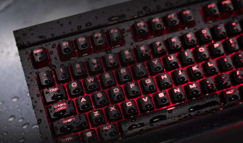corsair gaming keyboard waterproof corsair
