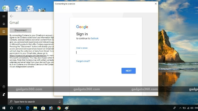 Cortana Gets Gmail Integration to Let You Go Beyond Microsoft Services