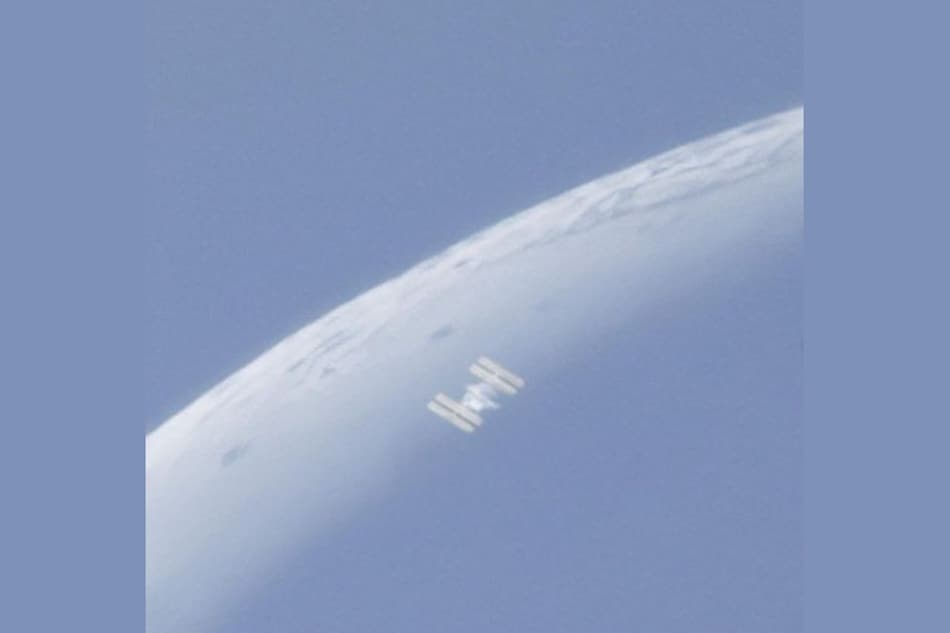 International Space Station Cruises Across the Moon, Caught in Sunlight: Watch the Video