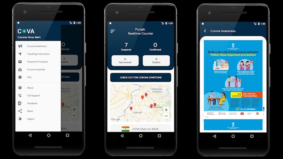 'COVA Punjab' Mobile App Launched to Help Spread Coronavirus Awareness