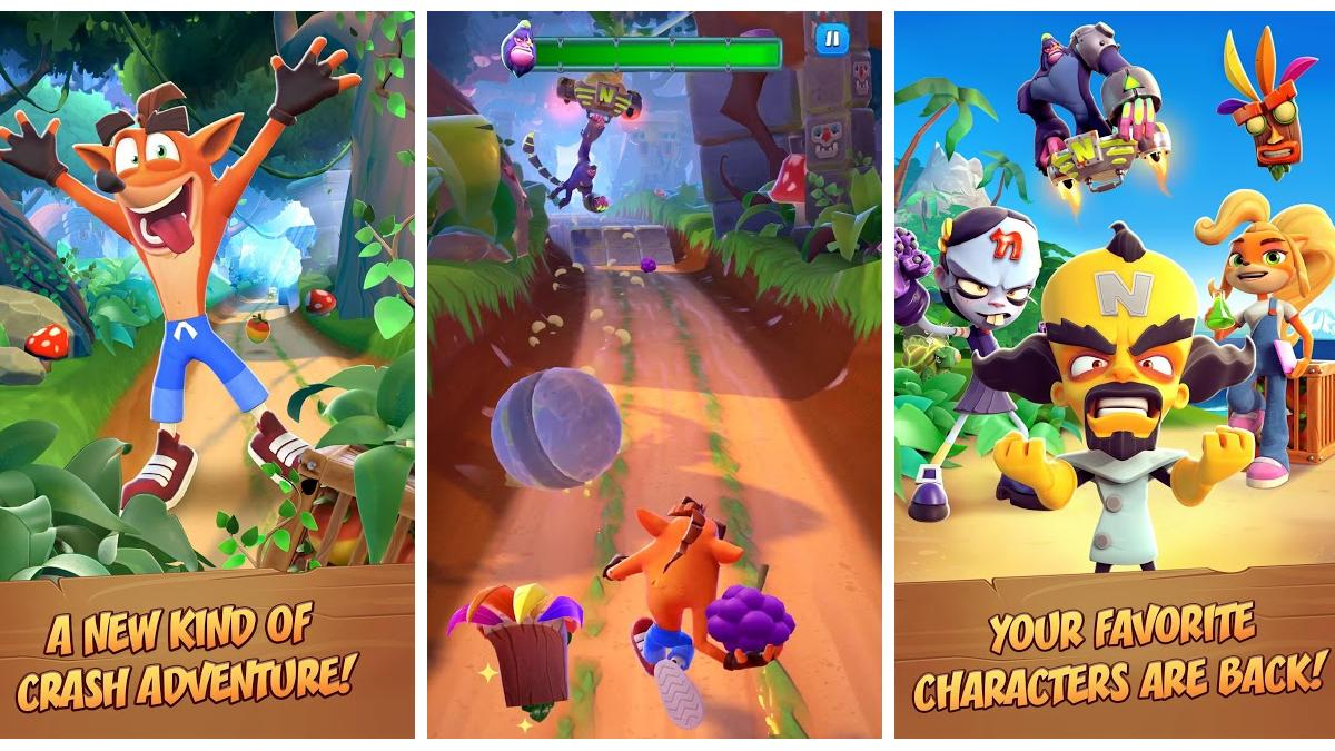 Crash Bandicoot Comes to Mobiles With Endless Runner on iOS and Android