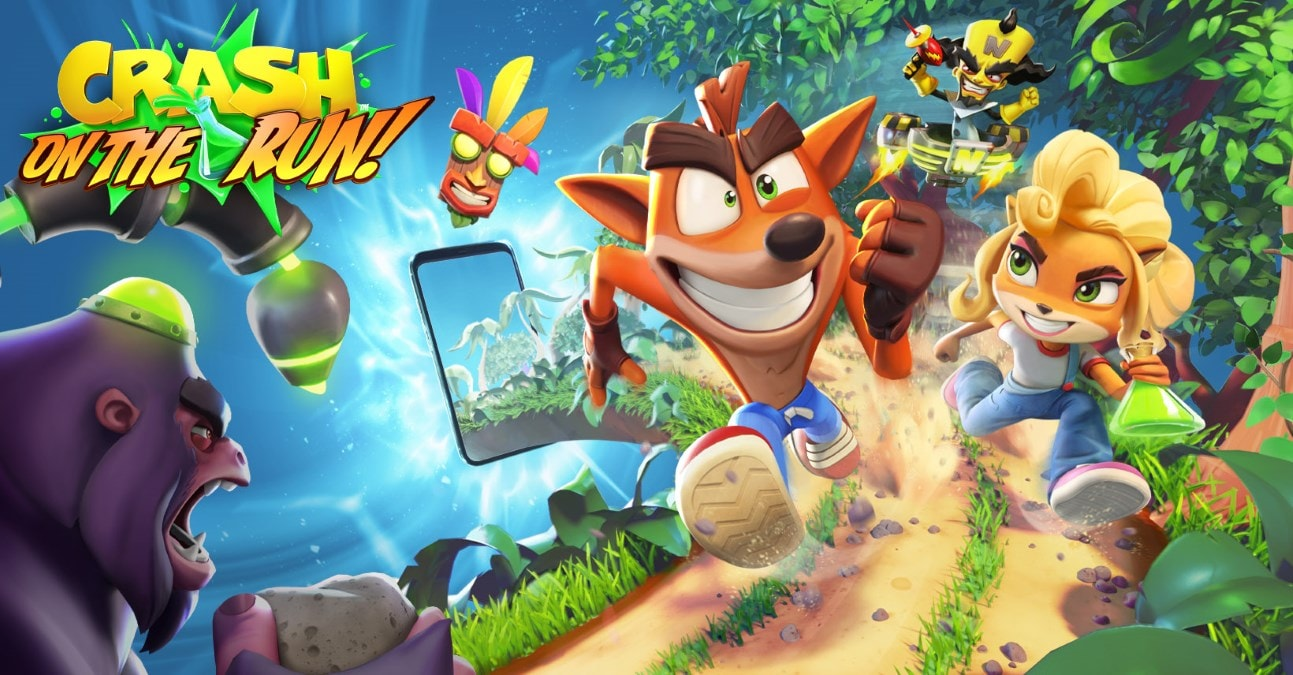 Crash Bandicoot: On the Run! to Release Globally in 2021 on Android, iOS