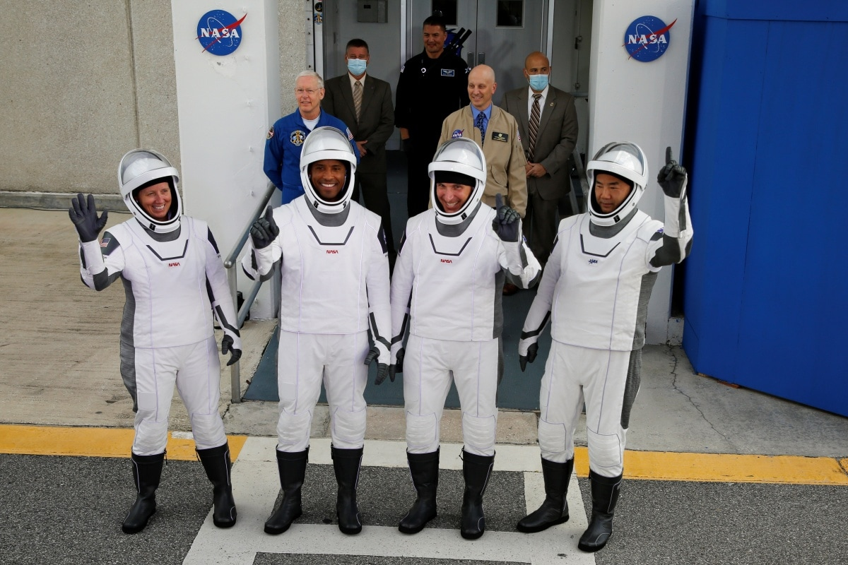 crew members spacex falcon 9 reuters crew