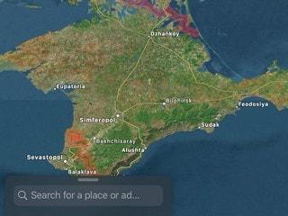 Apple Starts Showing Annexed Crimea as Russia on Apps, Ukraine Denounces Move