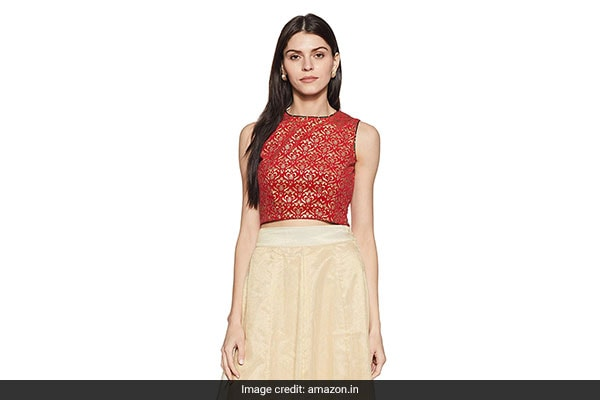 crop top sari blouse (8) 1555327984142