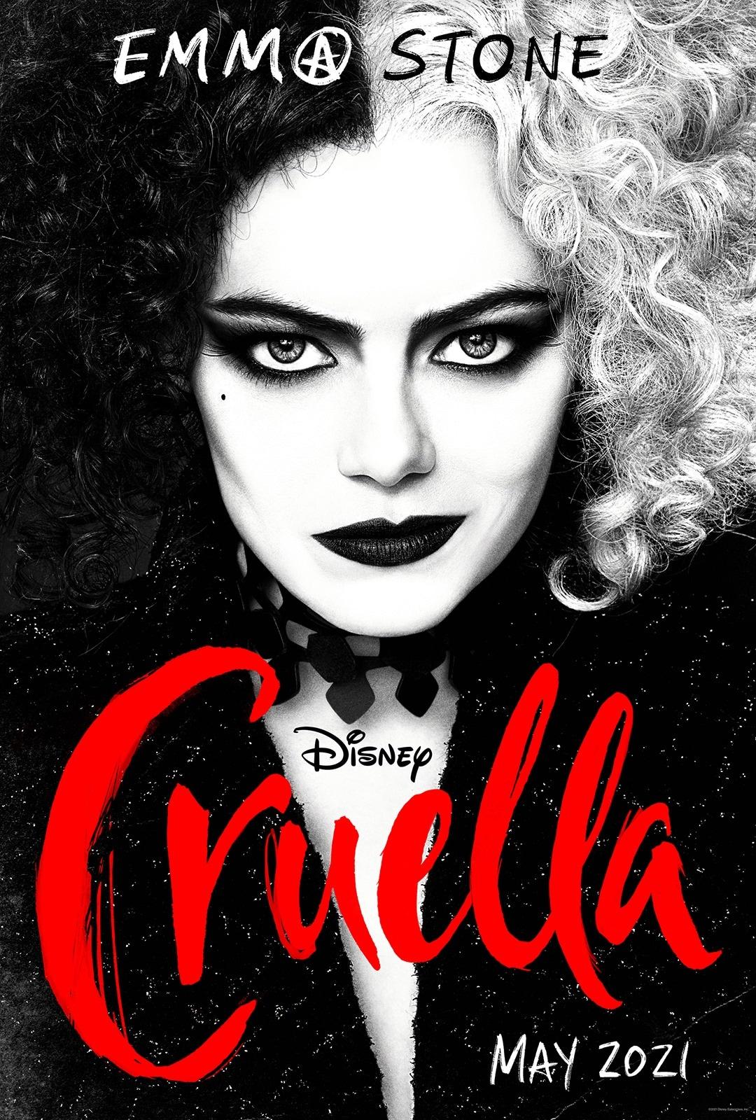 cruella poster cruella movie poster