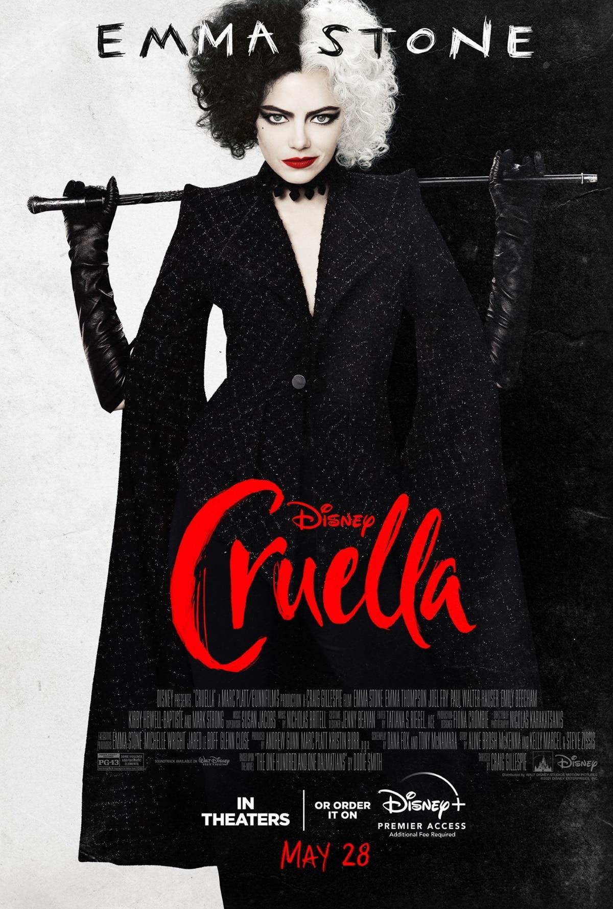 ملصق cruella disney plus cruella poster 2