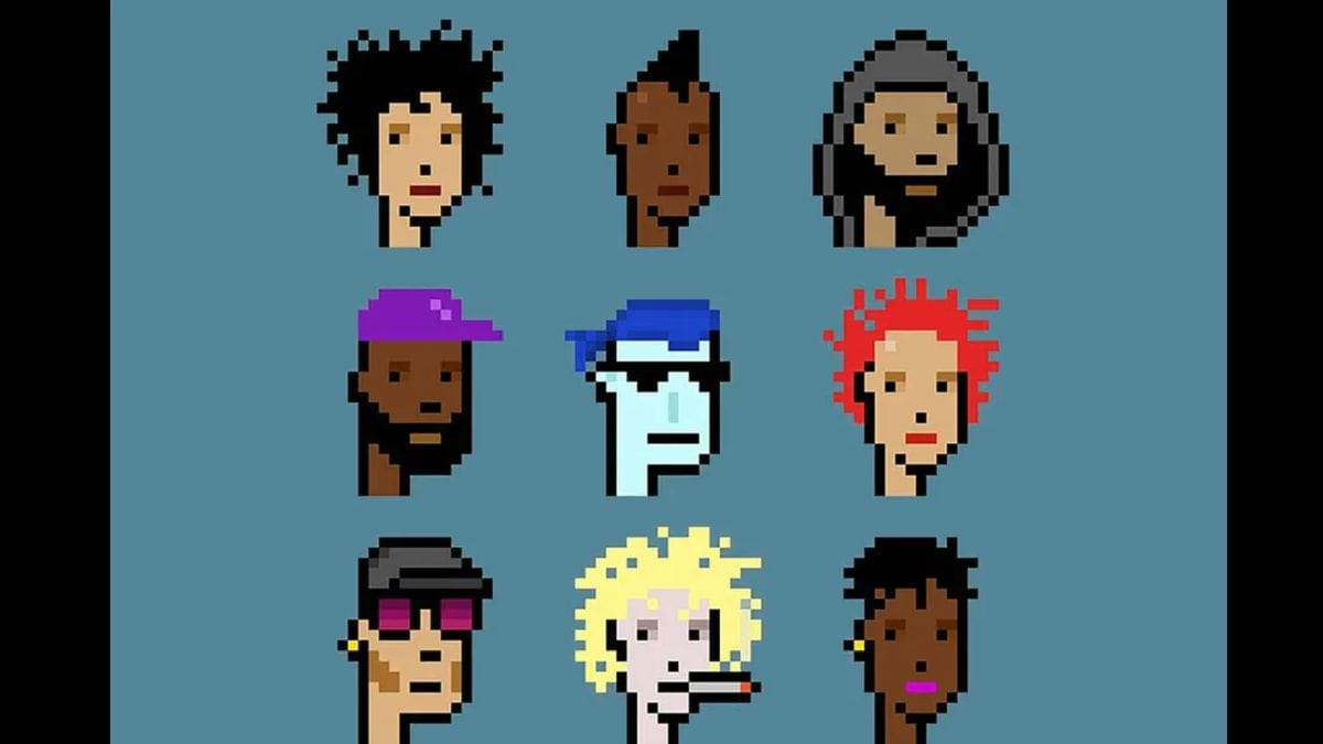 CryptoPunks NFTs Auctioned For .9 Million at Christie's