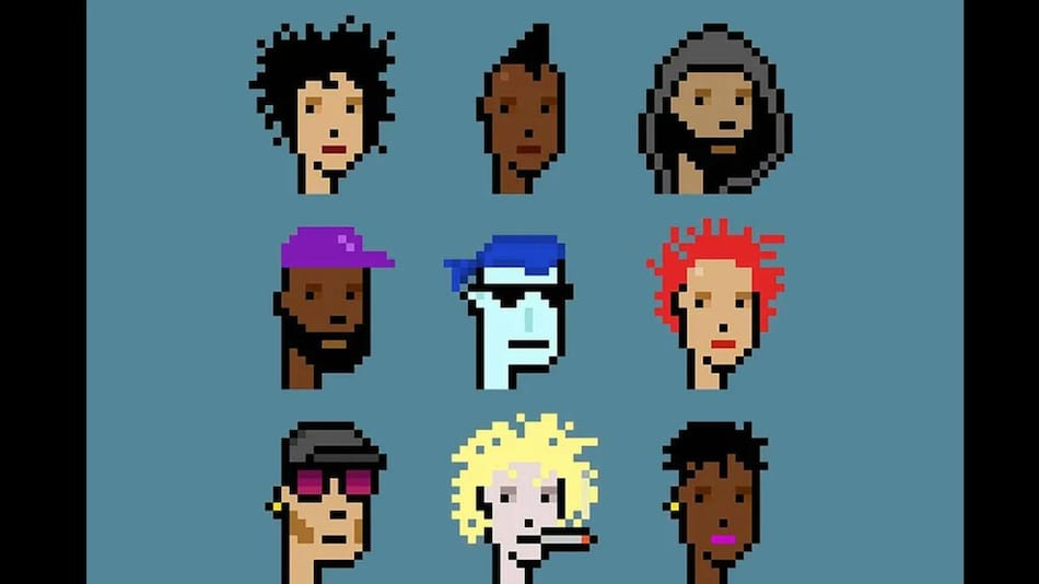 CryptoPunks NFT Portraits Sell for $16.9 Million at Christie's Auction