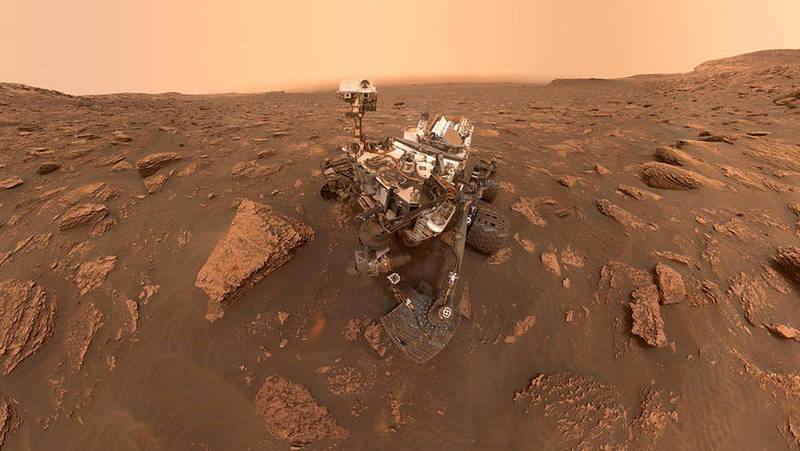 NASA Mars Rover Curiosity Returns to Work at Old Locations