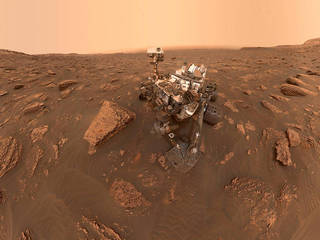 NASA's Curiosity Mars Rover Gets Back to Work at Its Old Location