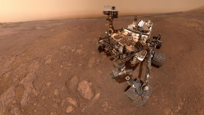 NASA's Curiosity Rover Snaps Last Selfie on Martian Ridge