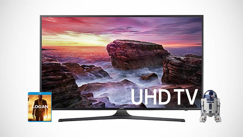 The Best Cyber Monday Entertainment Deals: 4K HDR TVs, Blu-Rays, R2-D2, and More