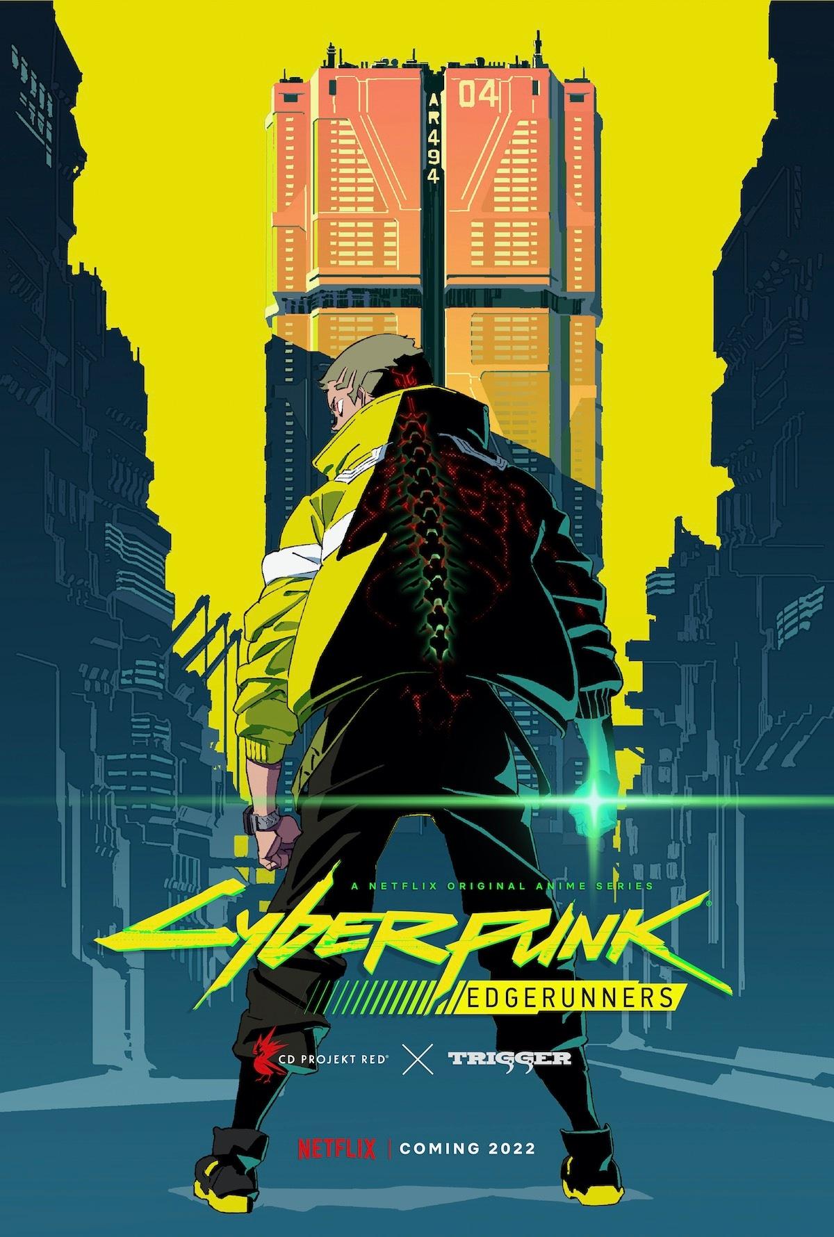 cyberpunk edgerunners poster Cyberpunk Edgerunners Netflix poster