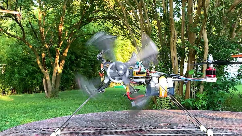 Aerospace Engineer Designs Drone That Uses Cyclical Blades for Vertical Flight: Watch