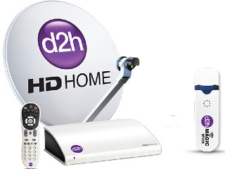 D2h to Launch a Combo Offer to Bundle HD RF Set-Top Box, Magic Stick, Site Listing Tips