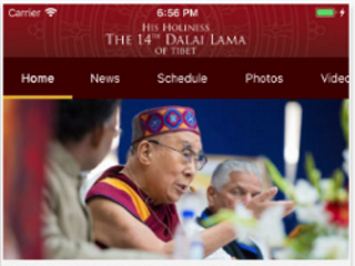 Dalai Lama Launches iOS App That Provides Updates on His Travels and Teachings