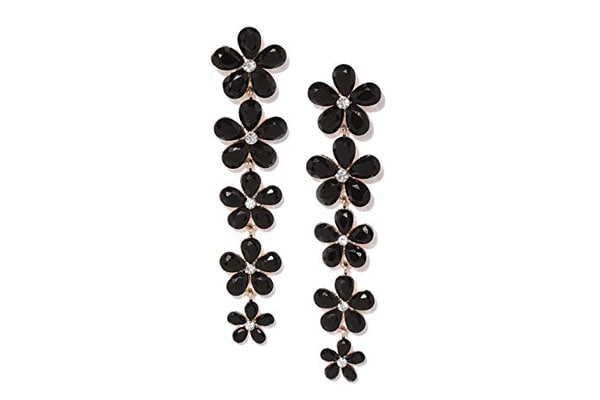 Dangler Earrings in India - YouBella Flower Earrings for Women