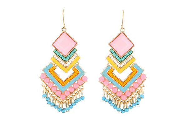 Dangler Earrings in India - Crunchy Fashion Dangler Earrings