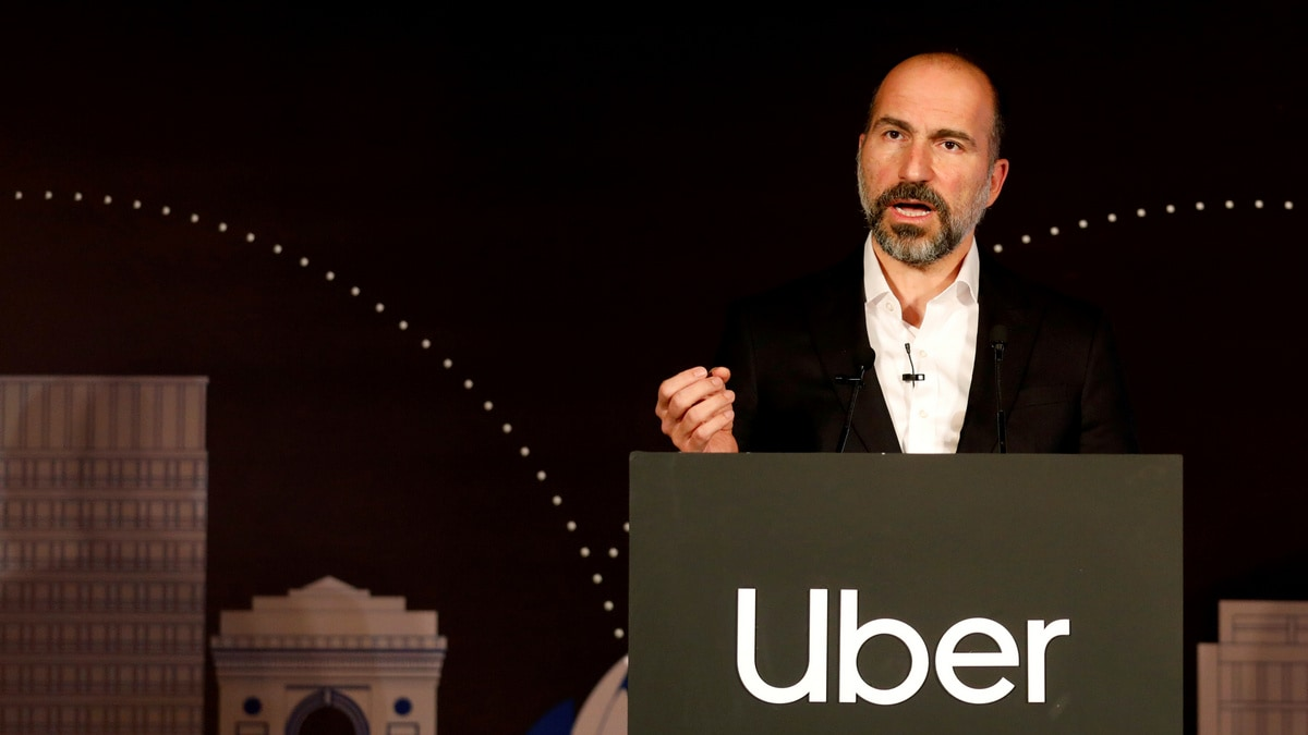 Uber CEO Dara Khosrowshahi Defends Company's Safety Record