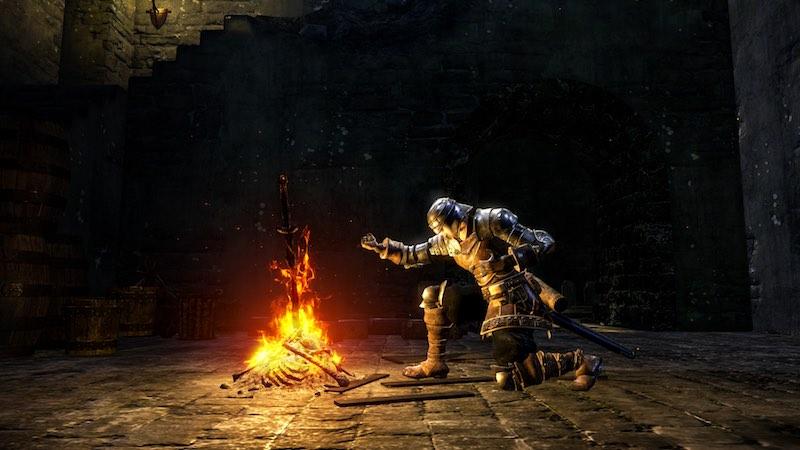 dark souls remastered  fire