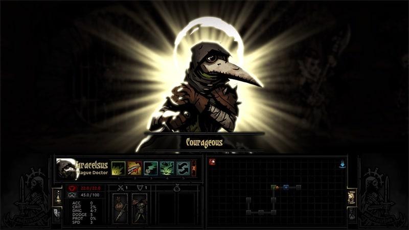 darkest dungeon courageous plague doctor Darkest Dungeon