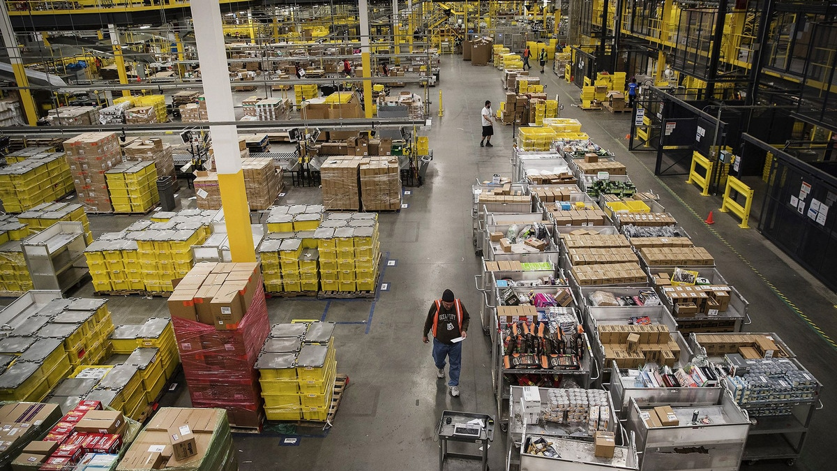 Amazon Holiday Shopping: The Man Who Makes It Happen