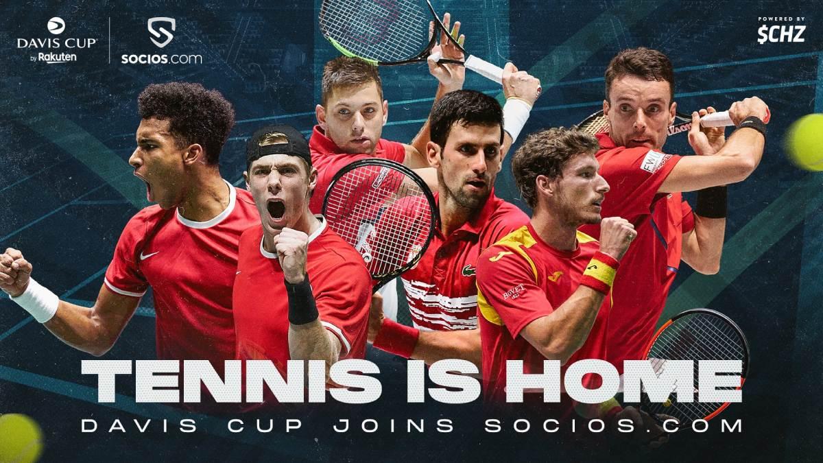 Davis Cup Fan Tokens Announced By Tournament Organisers Kosmos Tennis