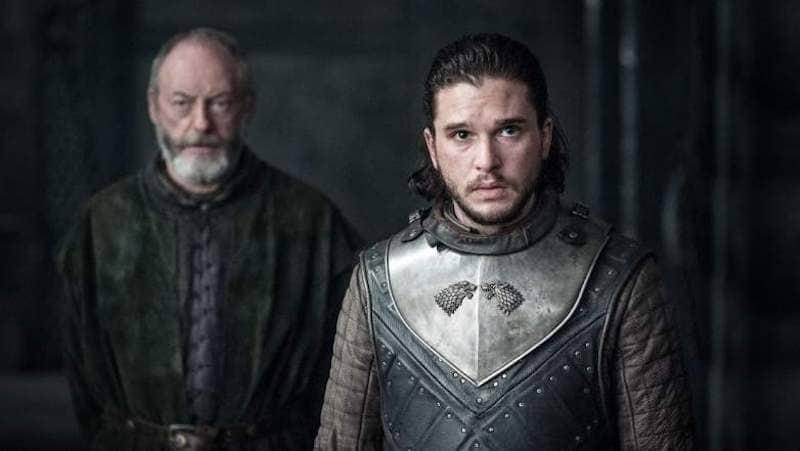 davos and jon got s7e3 game of thrones