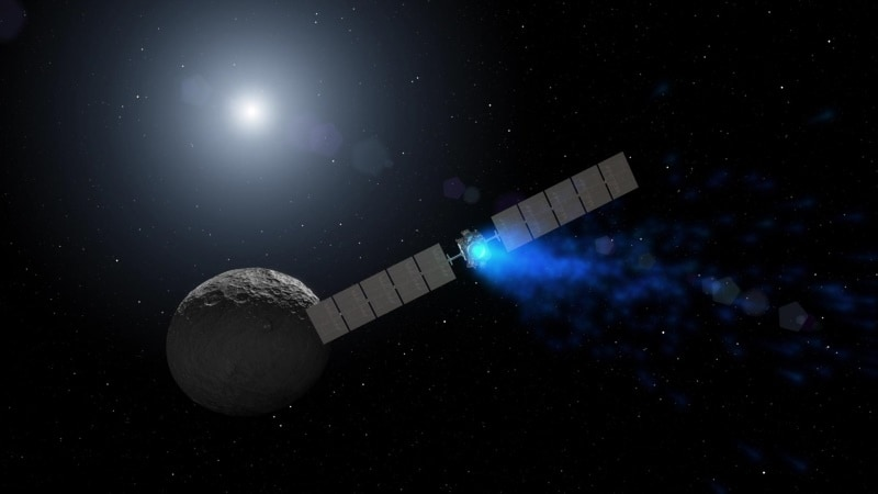 NASA's Dawn Spacecraft Hit by Glitch on Extended Mission