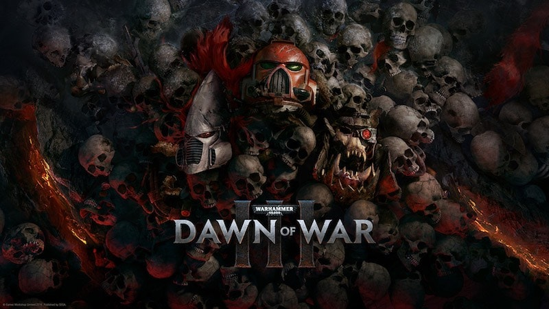 Minutes Of Dawn of War 3 Team Based Gameplay