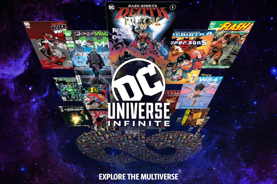 DC to Relaunch Mobile App as DC Universe Infinite on January 21 With Focus on Comics