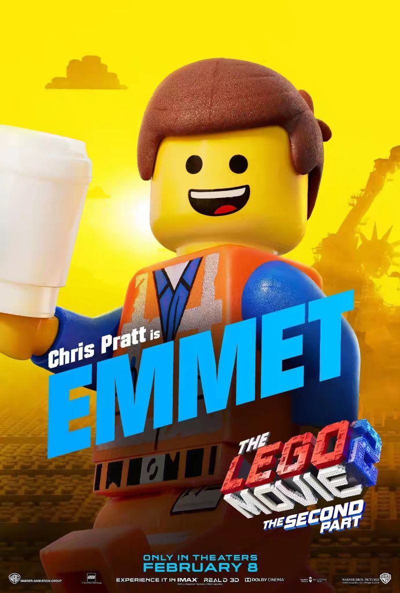de821ba42d6ee3af14792dc676533f83 The Lego Movie 2 Emmet