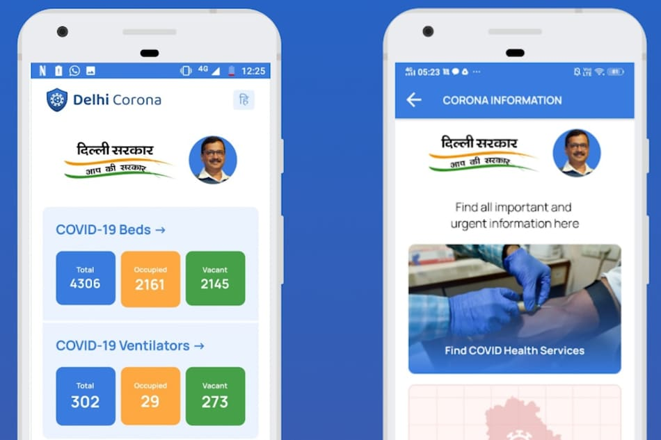 Delhi Government Launches 'Delhi Corona' App for Information on Vacant Hospital Beds, Ventilators