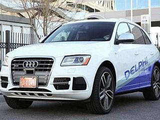 Delphi, Mobileye to Use Intel Chip for Self-Driving Car System