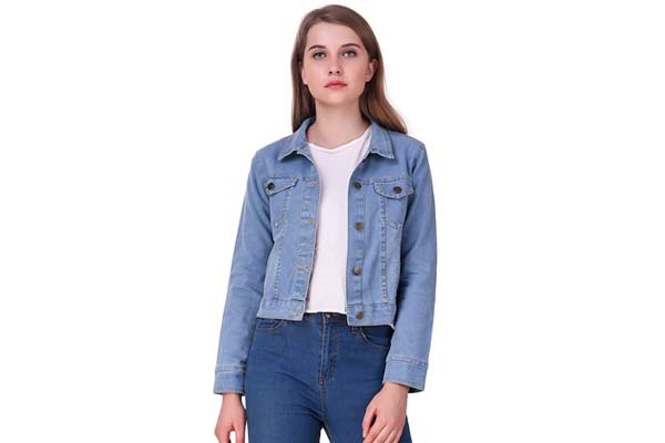 Best Women's Denim Jackets in India - Clo Clu Women's Denim Jacket