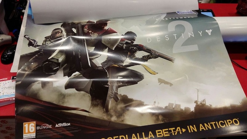 Destiny 2 Poster Leaks Shows September Release Date
