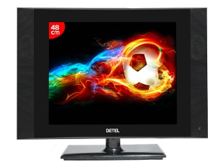 Detel D1 TV Launched in India at Rs. 3,999, Claims to Be 'World's Most Economical LCD TV'