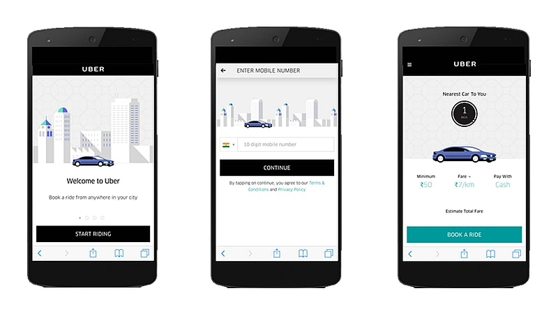 Uber Rolls Out Its 'Dial an Uber' Feature to 29 Cities in India