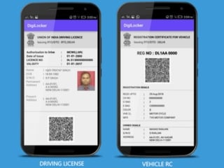 DigiLocker Enables Digital Driving Licence and Vehicle Registration Papers